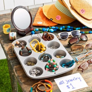 yard sale storage